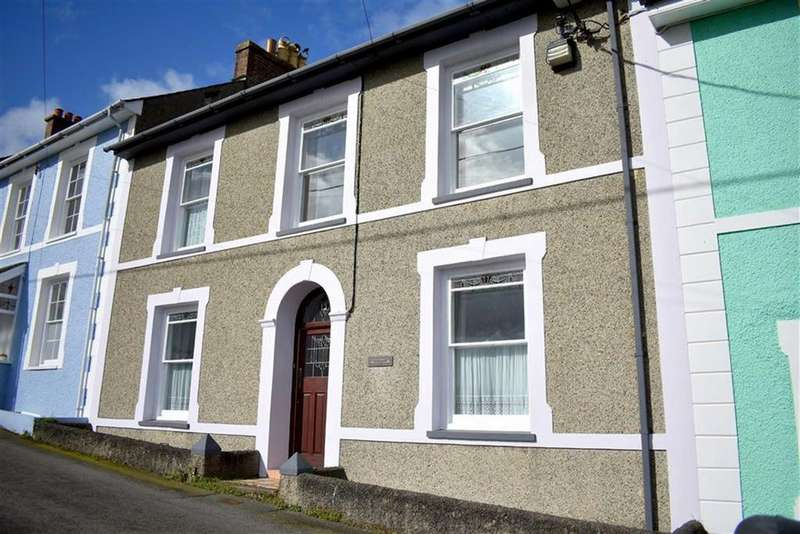 5 Bedrooms Terraced House for sale in High Terrace, New Quay, Ceredigion
