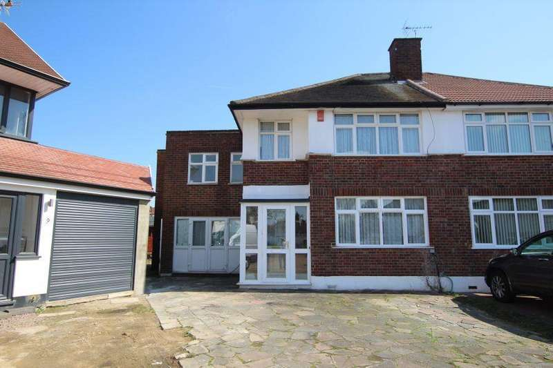 4 Bedrooms Semi Detached House for sale in The Leys,Mount Stewart HA3 9SP