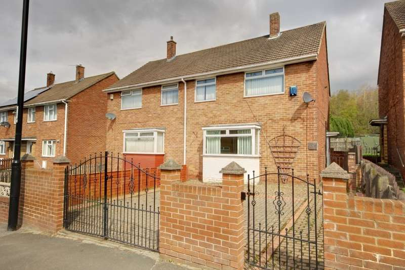 3 Bedrooms Semi Detached House for sale in Brinkburn Crescent, Houghton Le Spring, DH4
