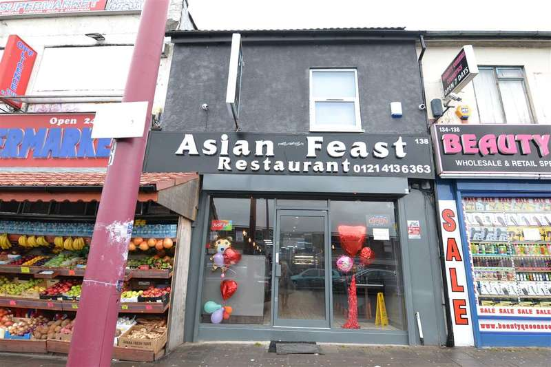 Commercial Property for sale in Soho Road, Handsworth, Birmingham