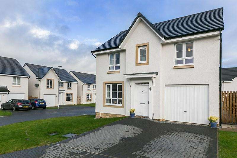 4 Bedrooms Property for sale in 8 Esk Valley Terrace, Dalkeith, Midlothian, EH22 3FT