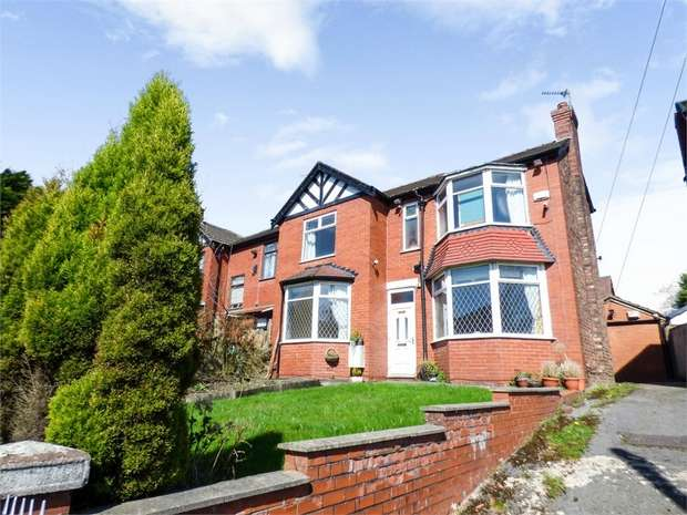 3 Bedrooms Semi Detached House for sale in Park Road, Prestwich, Manchester, Lancashire
