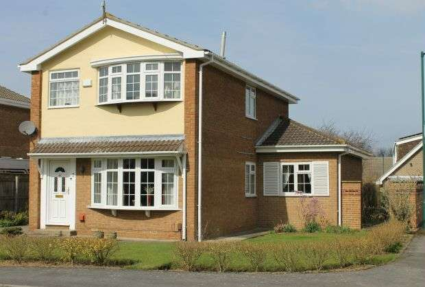 5 Bedrooms Detached House for sale in Bramham Down, Hunters Hill, Guisborough