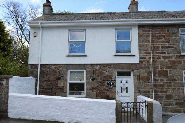 2 Bedrooms End Of Terrace House for sale in Drump Road, Redruth, Cornwall
