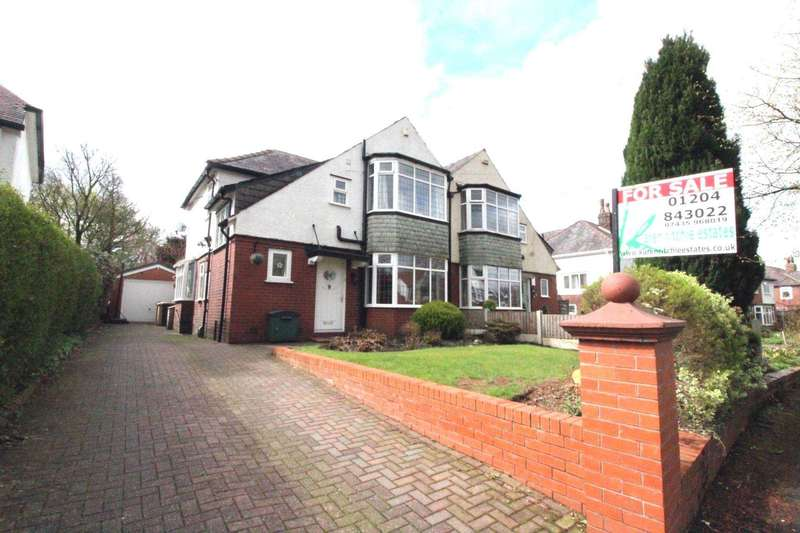 3 Bedrooms Semi Detached House for sale in Old Kiln Lane, Heaton