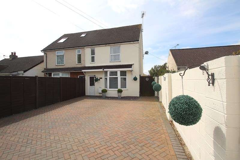 4 Bedrooms Semi Detached House for sale in Fareham Road, Gosport