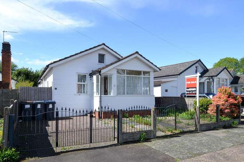 2 Bedrooms Bungalow for sale in Hawkesley Drive, Northfield, Birmingham, B31