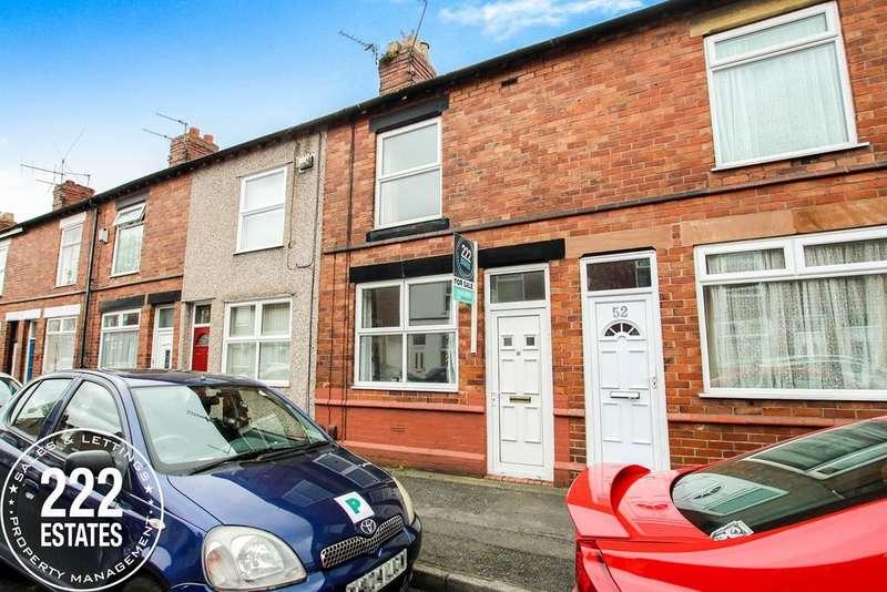 2 Bedrooms Terraced House for sale in Lancaster Street, Warrington, WA5