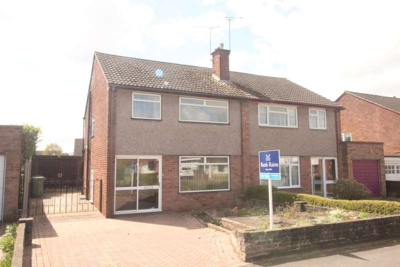 3 Bedrooms Semi Detached House for sale in Porlock Avenue, Stafford, ST17