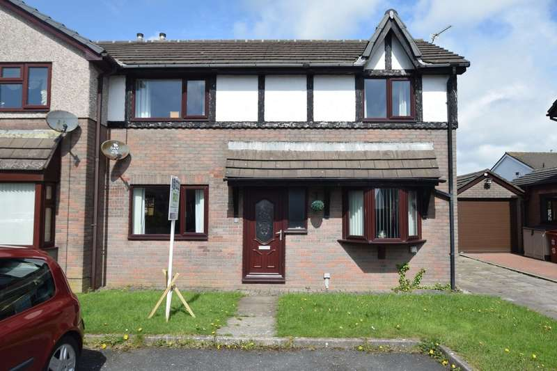3 Bedrooms Semi Detached House for sale in Baycliff Drive, Dalton-in-Furness