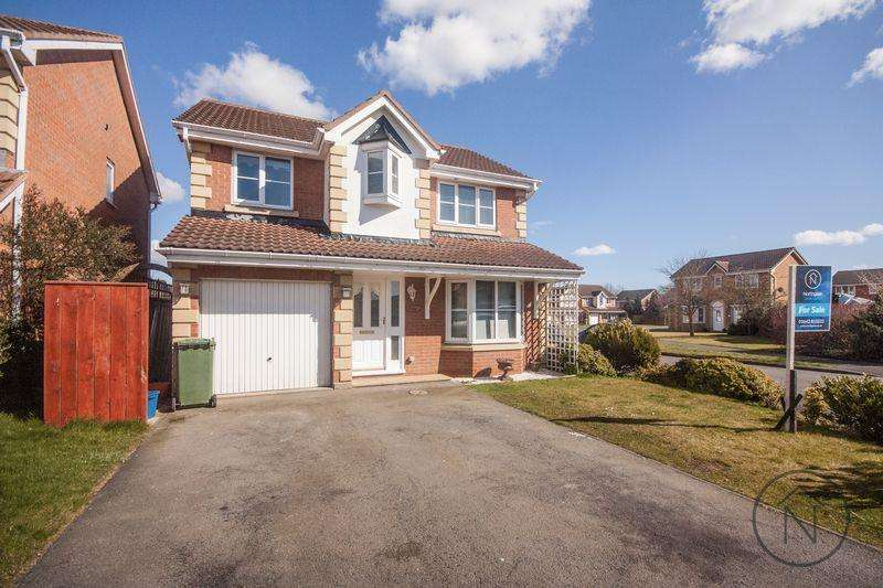 4 Bedrooms Detached House for sale in Rossetti Way, Billingham