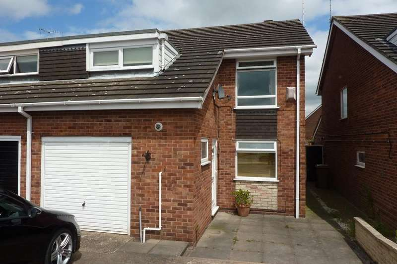 3 Bedrooms Semi Detached House for rent in Yew Tree Road, Hatton
