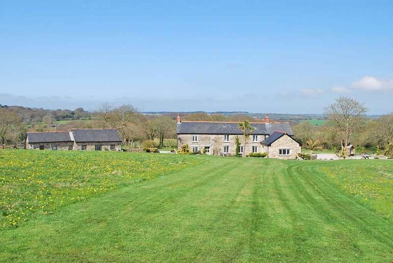 4 Bedrooms Detached House for sale in Nr. Stithians, Truro, Cornwall, TR3