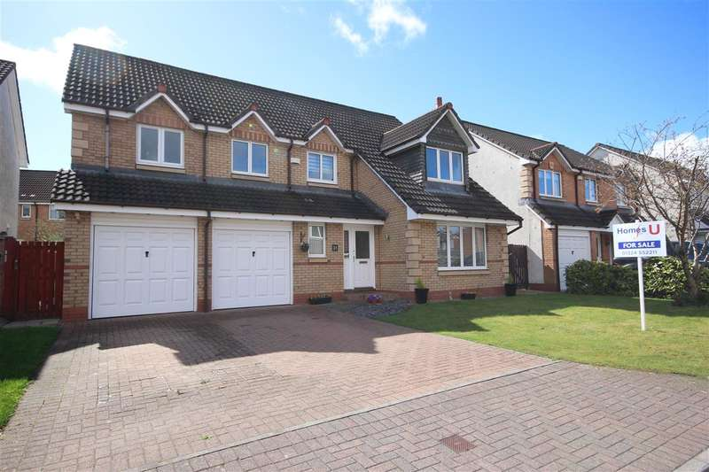 4 Bedrooms Detached House for sale in Inchcolm Avenue, The Inches, Larbert