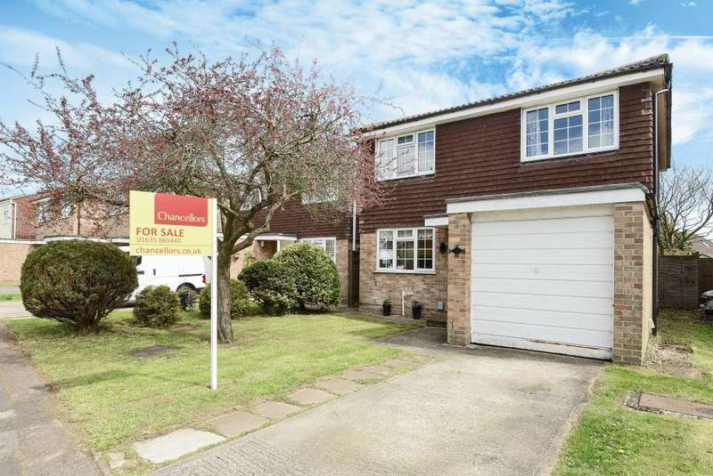 4 Bedrooms Detached House for sale in Pegasus Close, Thatcham, RG19