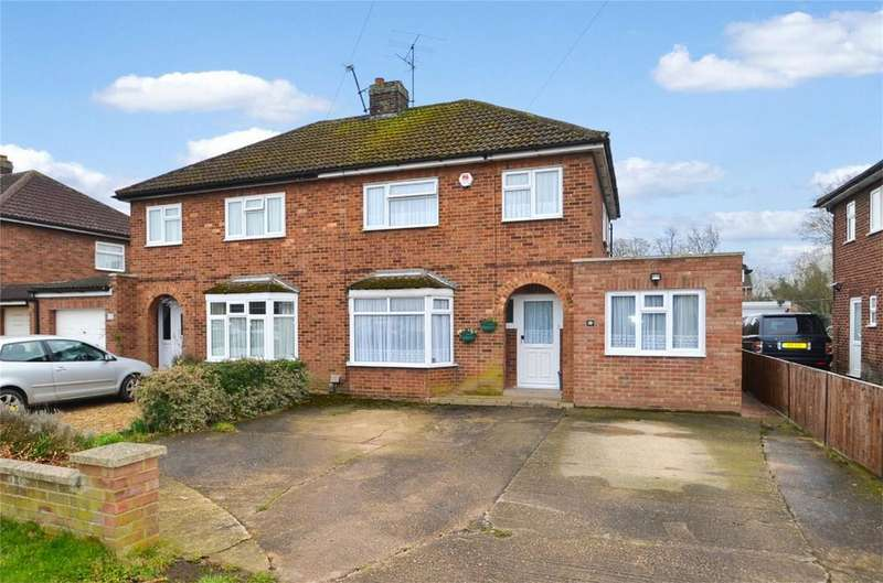 3 Bedrooms Semi Detached House for sale in Stockbridge Road, CLIFTON, Bedfordshire
