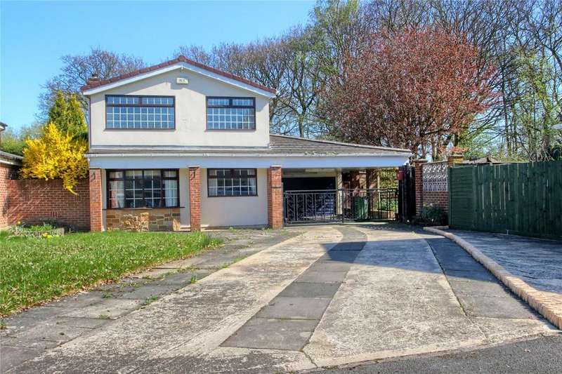 4 Bedrooms Detached House for sale in Cranwell Grove, Thornaby