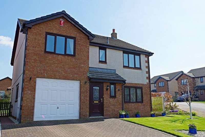 4 Bedrooms Detached House for sale in Elm Close, High Hesket, Carlisle