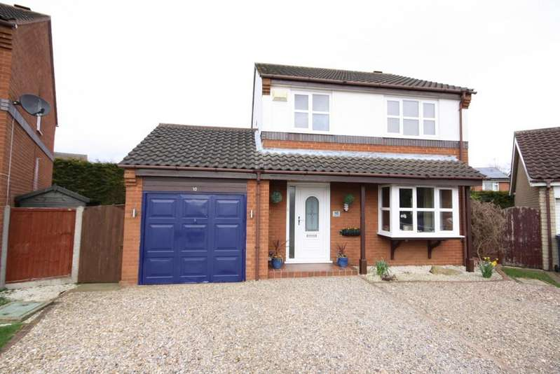 4 Bedrooms Detached House for sale in Windsor Close, Sudbrooke