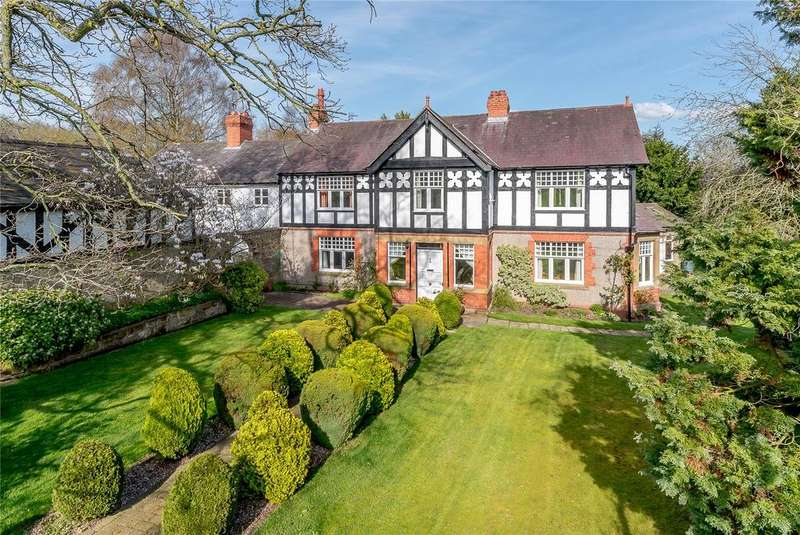 5 Bedrooms Detached House for sale in Mill Lane, Bulkeley, Cheshire