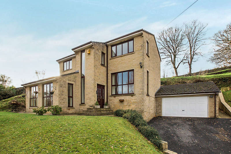 4 Bedrooms Detached House for sale in Stainland Road, Holywell Green, Halifax, HX4