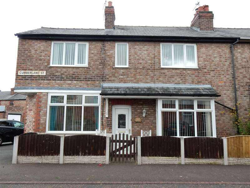 3 Bedrooms End Of Terrace House for sale in Cumberland Street, Warrington