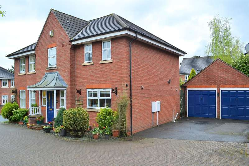 4 Bedrooms Detached House for sale in Cheshire Close, Burntwood