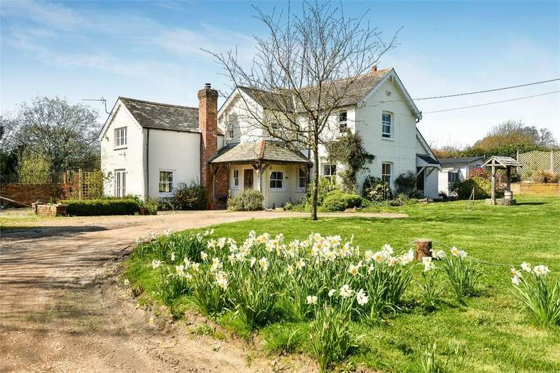 4 Bedrooms Detached House for sale in Football Green, Minstead, Lyndhurst, Hampshire