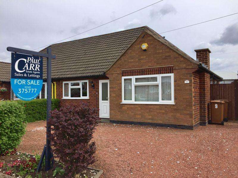 3 Bedrooms Semi Detached Bungalow for sale in Adams Road, Brownhills