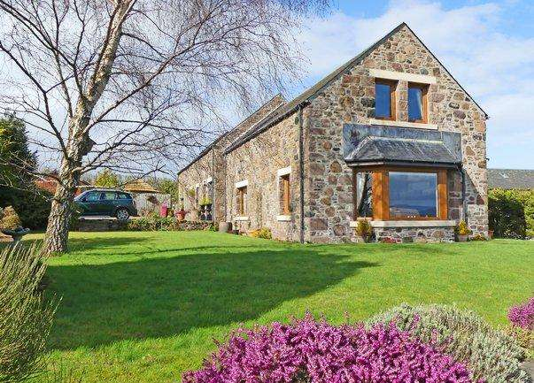 4 Bedrooms Barn Conversion Character Property for sale in Raith Farm, Madderty, Crieff PH7