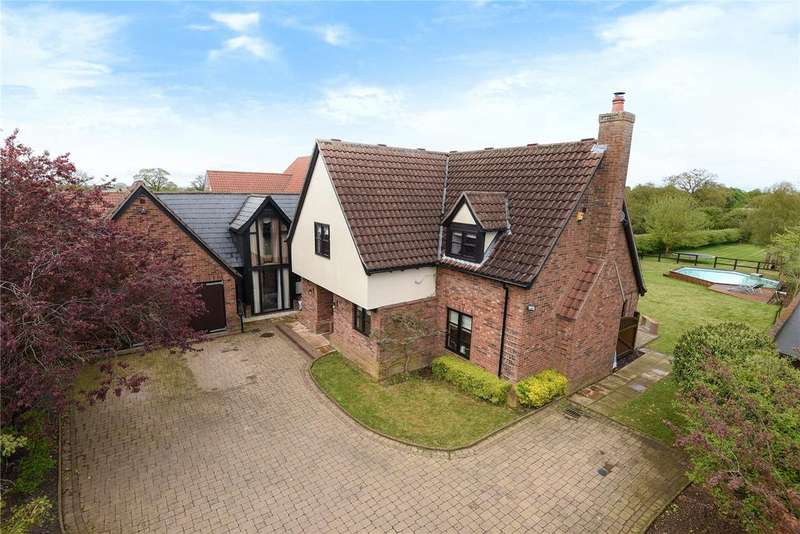 6 Bedrooms Detached House for sale in Mill Lane, Stetchworth, Newmarket, Suffolk, CB8