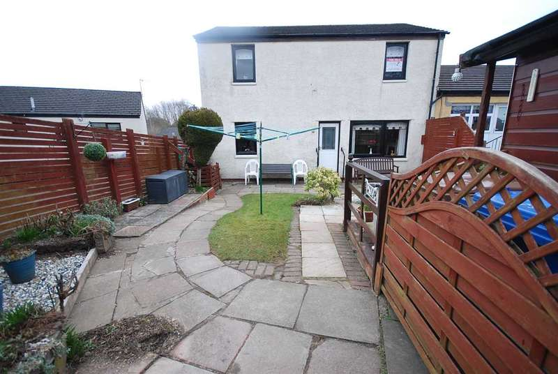 4 Bedrooms Semi Detached House for sale in East Bowhouse Way, Girdle Toll, Irvine
