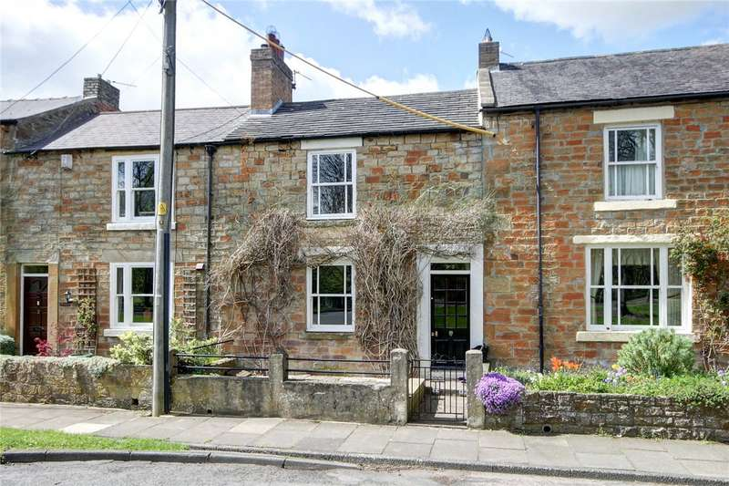 2 Bedrooms Terraced House for sale in Victoria Terrace, Lanchester, Durham, DH7