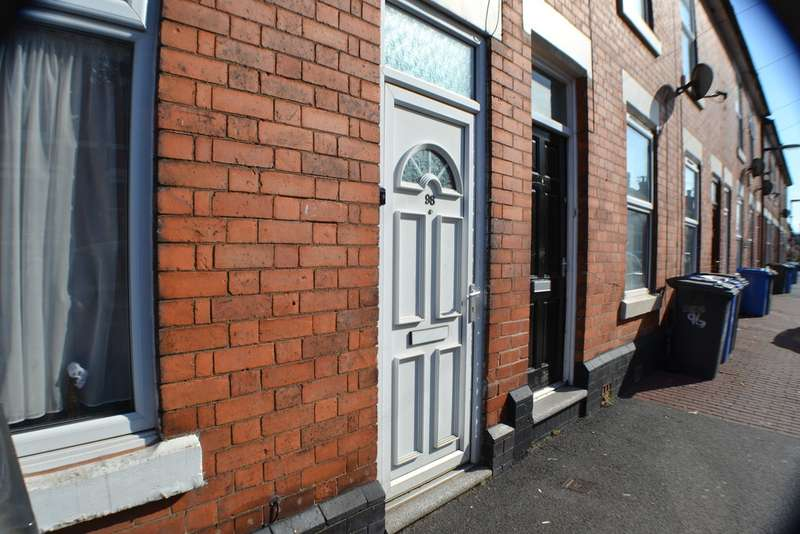 2 Bedrooms Terraced House for sale in Randolph Road, Normanton, Derby DE23