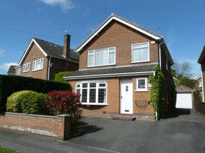 3 Bedrooms Detached House for sale in Field Rise, Littleover, Derby, Derbyshire
