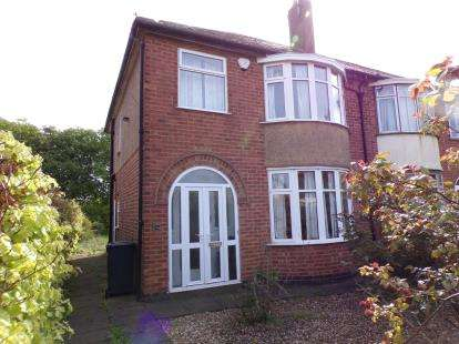 3 Bedrooms Semi Detached House for sale in Thurcaston Road, Mowacre Hill, Leicester, Leicestershire