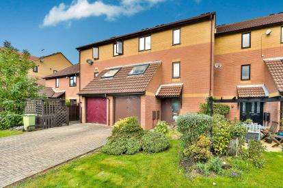 4 Bedrooms Terraced House for sale in Woodley Headland, Peartree Bridge, Milton Keynes, Buckinghamshire