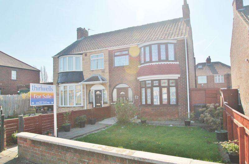3 Bedrooms Semi Detached House for sale in Irvine Road, North Ormesby