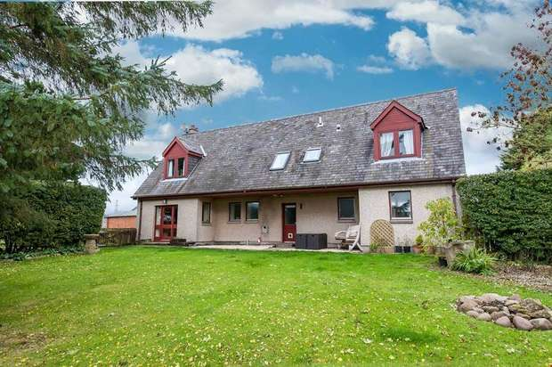 4 Bedrooms Detached House for sale in Fordoun, Laurencekirk, Aberdeenshire