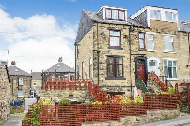 3 Bedrooms End Of Terrace House for sale in Sydenham Place, Bradford, West Yorkshire