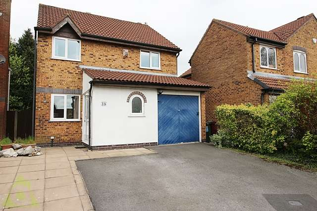 3 Bedrooms Detached House for sale in Washburn Close, Westhoughton, Bolton, BL5