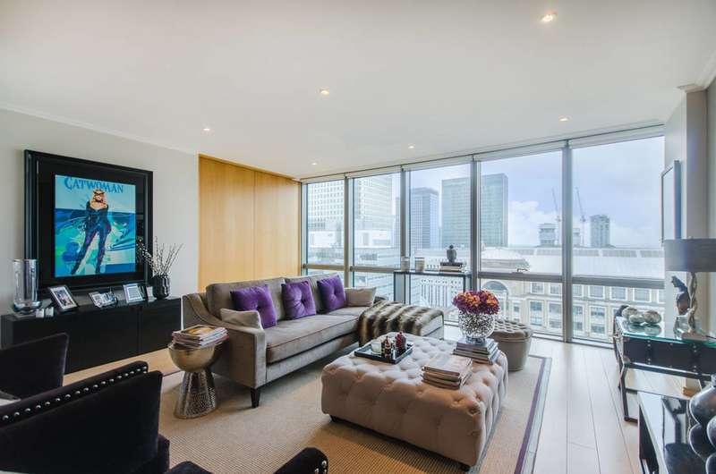 2 Bedrooms Flat for sale in Hertsmere Road, Docklands, E14