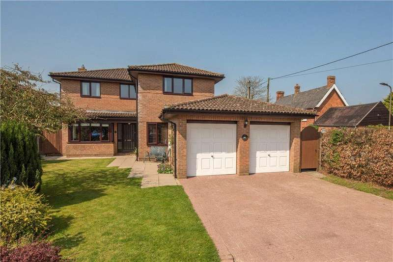 4 Bedrooms Detached House for sale in Chapelfields, Thurleigh, Bedford, Bedfordshire