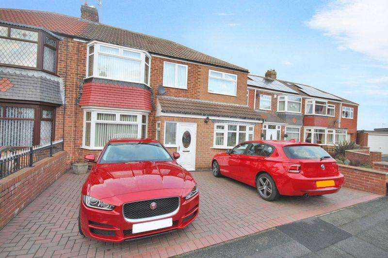 3 Bedrooms Semi Detached House for sale in Malvern Avenue, Saltburn-By-The-Sea