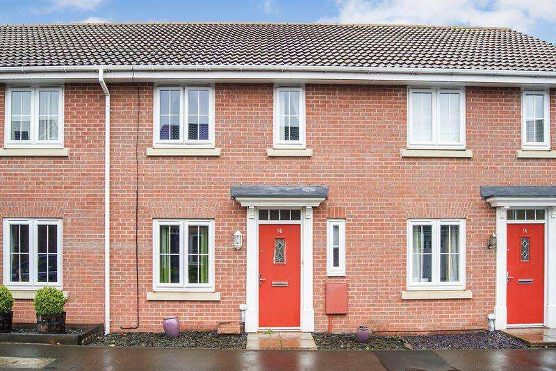 3 Bedrooms Terraced House for sale in Coles Way, Grantham