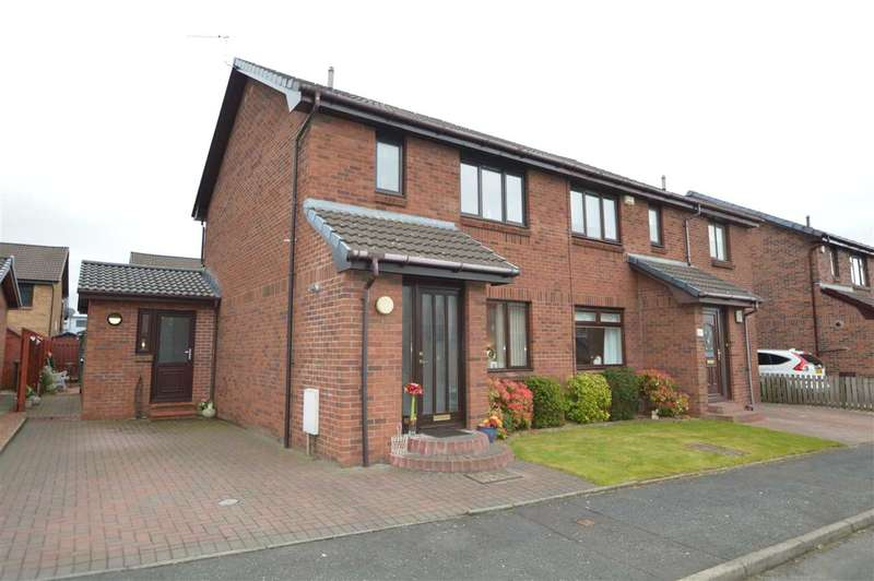3 Bedrooms Semi Detached House for sale in Thyme Square, Motherwell