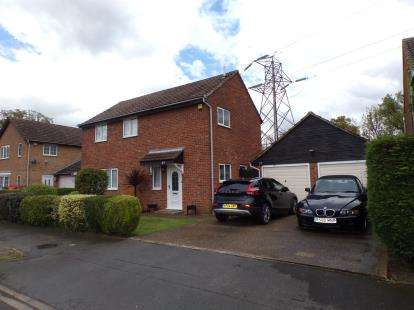 4 Bedrooms Detached House for sale in Douglas Road, Brickhill, Bedford, Bedfordshire