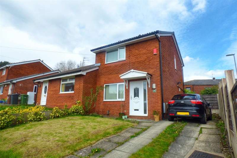 2 Bedrooms Semi Detached House for sale in Salem Grove, Leesbrook, Oldham, Greater Manchester, OL4