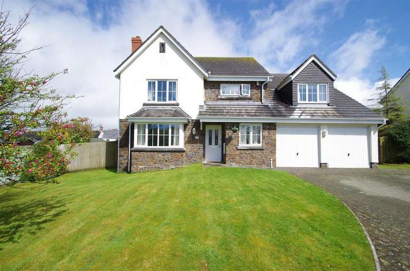 5 Bedrooms Detached House for sale in Glebe Field, Georgeham, Braunton