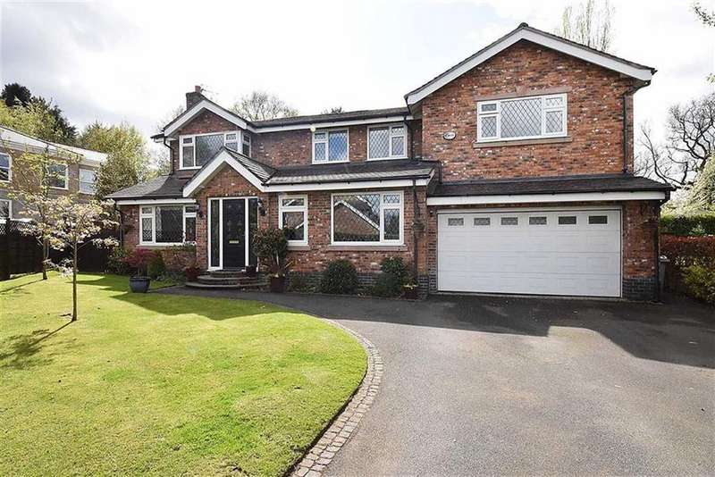 5 Bedrooms Detached House for sale in Yew Tree Close, Prestbury